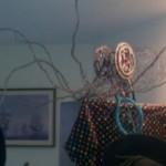 Octopus impersonating hat rack